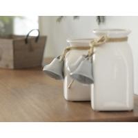Vase avec clochettes, 6.5''