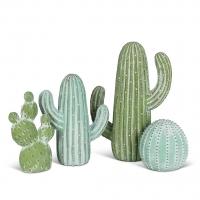 Cactus en céramique, 5''