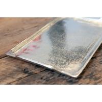 Plateau en aluminium argent 1 x 11.5 x 7''