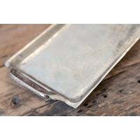 Plateau en aluminium argent 1 x 17.5 x 5''