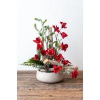 Arrangement floral hivernal