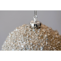 White Pearlized Ball, 4''