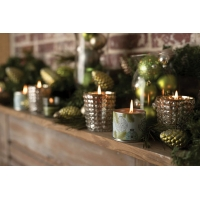 Chandelle Votive Silver Spruce 2on