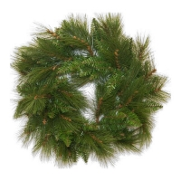 #101 Artificial pine wreath 24''