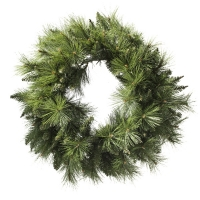 #301 Artificial pine wreath 30''
