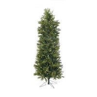 6'' Led belgium mix pencil tree, 200 led lights, 27'' diam.