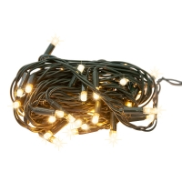 50 Outdoor Warm White Twinkle LED Lights