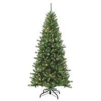 Sapin illuminé kingston 7,5' x 46'' diam. Lumières DEL multi