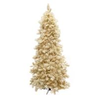 Illuminated 7,5' Flocked St Moritz Christmas Tree
