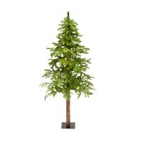 Illuminated 5' Fresh Cut Alpine Tree
