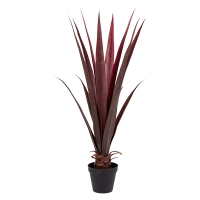 Artificial burgundy agave, 38''