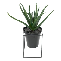 Potted Artificial Aloe Plant