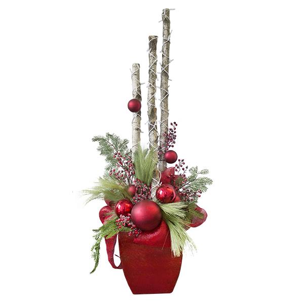 Decoration Noel Exterieur Vegetale