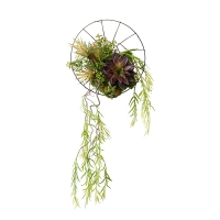 Wall Mounted Willow Greenery Arrangement