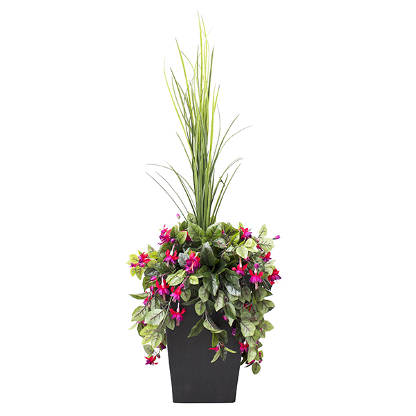 Arrangement ext rieur de coeurs saignants roses 40 for Arrangement floral exterieur