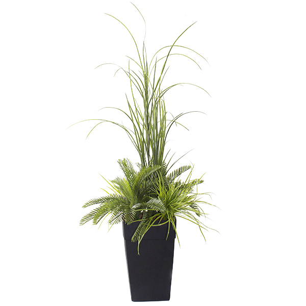 Arrangement ext rieur dracaena et verdures 48 39 39 d cors for Arrangement floral exterieur