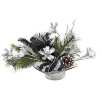 Arrangement magnolias en fête 17 x 23''