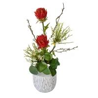 Bouquet de fleurs tout en hauteur