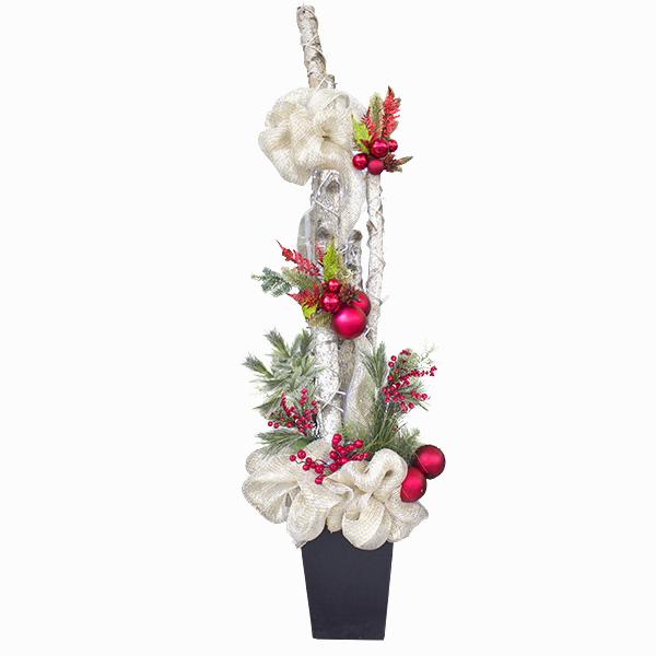 Decoration De Noel Bac  Ef Bf Bd Fleurs