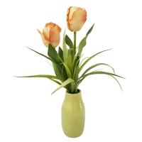 Orange Tulip Arrangement