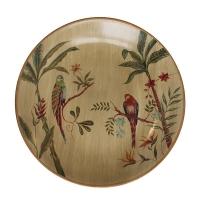 Assiette décorative 16x16x15''
