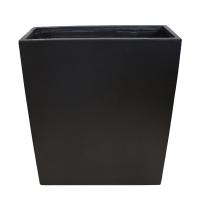 Black rectangular fiberglass container 23,5 x 9 x 28,5''