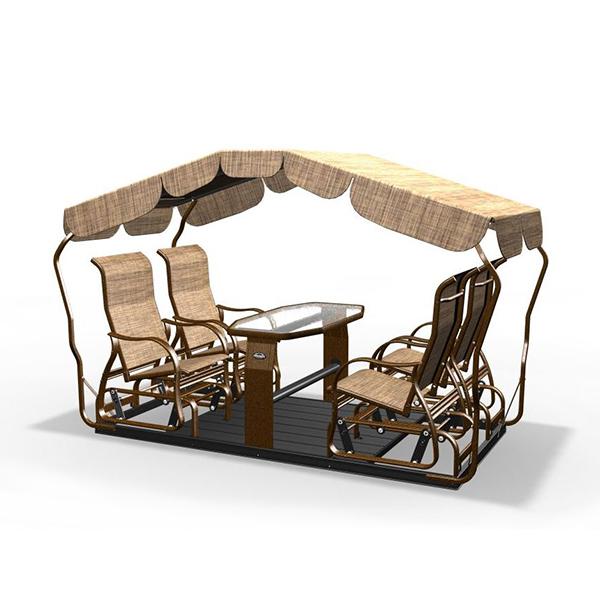 balancoire 4 places ind pendantes st laurent cuivre d cors v ronneau. Black Bedroom Furniture Sets. Home Design Ideas