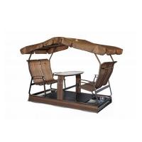 Swing on wheels kaza, 4 seats, copper