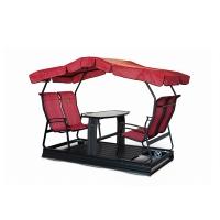 Swing on wheels kaza, 4 seats, red