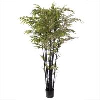 Arbre artificiel, bambou noir 6'