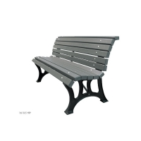 Park bench wih backrest 60''