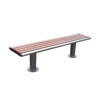 6' Backless park bench