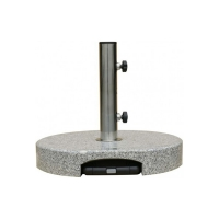 Granite umbrella base, 49lbs, 16,5 x 16,5 x 6,5''