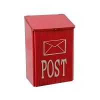 Boite à mail rouge à suspendre 15''