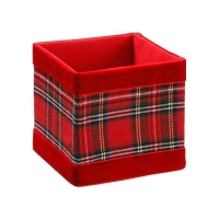 Red Checkered Box