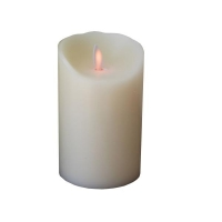 Candle with realistic flame