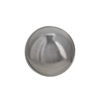 Chrome stainless steel decorative ball 10'', int./ext.