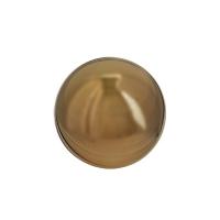 Boule décorative acier inoxidable cuivre 10'', int./ext.
