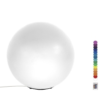 24'' White led plastic ball, 16 color, moon sol