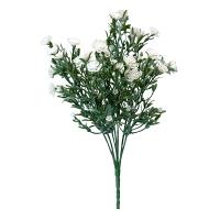 Bouquet de petites fleurs blanches 13''