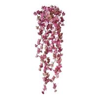 Bouquet de petites succulentes retombantes roses, 22''