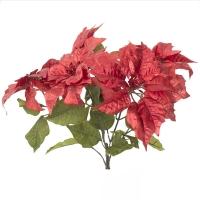 Red poinsettia bush 22,5''