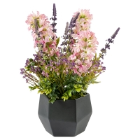 Rustic Wildflower Bouquet in Vase
