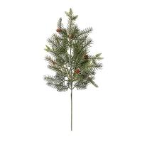 Branche de pin avec cocottes 28''