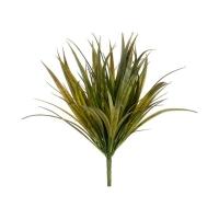 Buisson d'herbe de vanille vert olive 13''