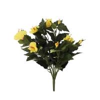 Yellow hibicus stem 19''