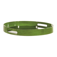 Green Plastic Tray, 15''