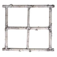 Cadrage de fenêtre en bouleau 24 x 24''
