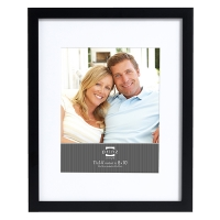 Black contour frame for 5 x 7'' picture