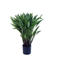 Artificial plant, 35'' Calathea